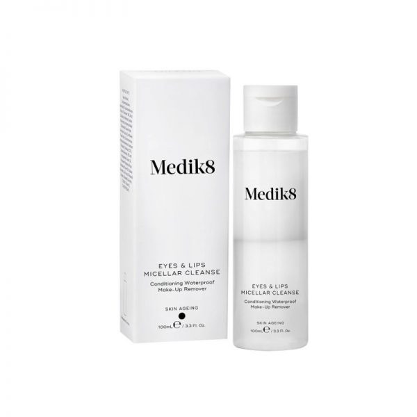 Medik8 Eyes and Lips Micellar Cleanse 1