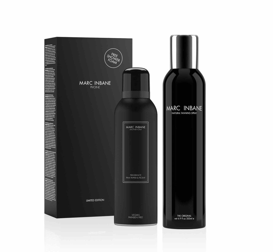 Marc Inbane Tanning Spray + gratis vegan foam twv 14,95
